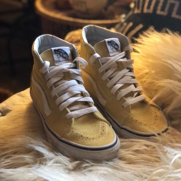 Vans Shoes | Old Skool Butter Yellow